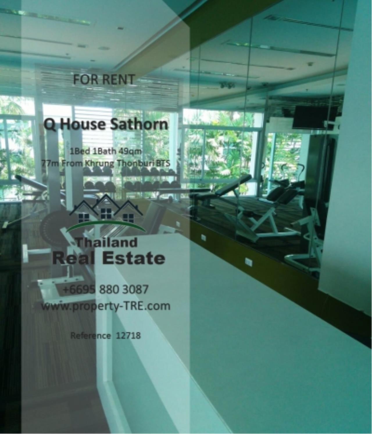 Thailand Real Estate Agency's 1 Bedroom Condo at  Q House  near BTS Khrung Thonburi(12718) 17