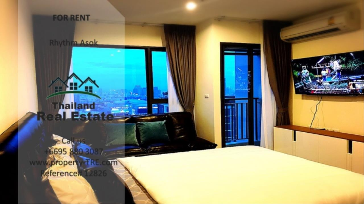 Thailand Real Estate Agency's Studio at Rhythm Asok near MRT Rama IX(12826) 3