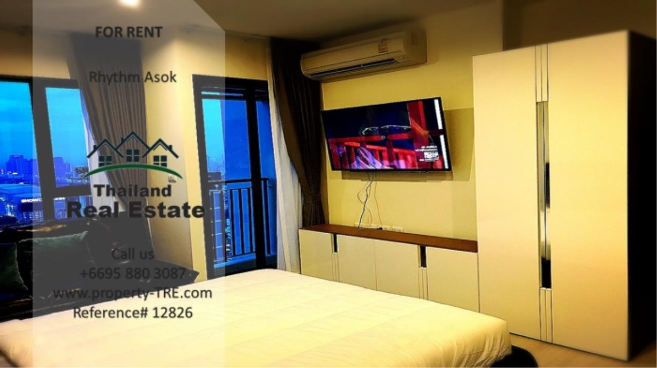 Thailand Real Estate Agency's Studio at Rhythm Asok near MRT Rama IX(12826) 4