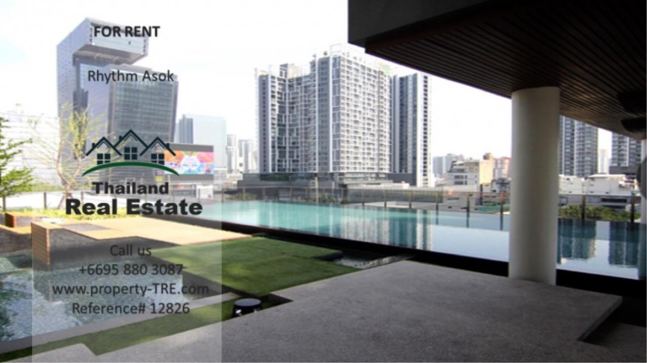 Thailand Real Estate Agency's Studio at Rhythm Asok near MRT Rama IX(12826) 5