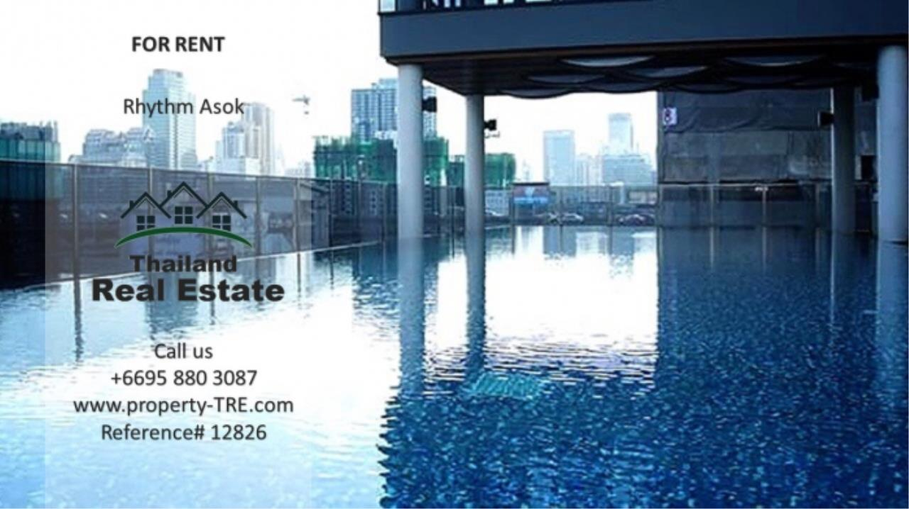 Thailand Real Estate Agency's Studio at Rhythm Asok near MRT Rama IX(12826) 6