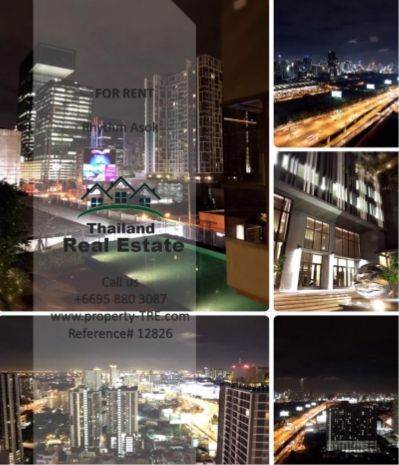 Thailand Real Estate Agency's Studio at Rhythm Asok near MRT Rama IX(12826) 7