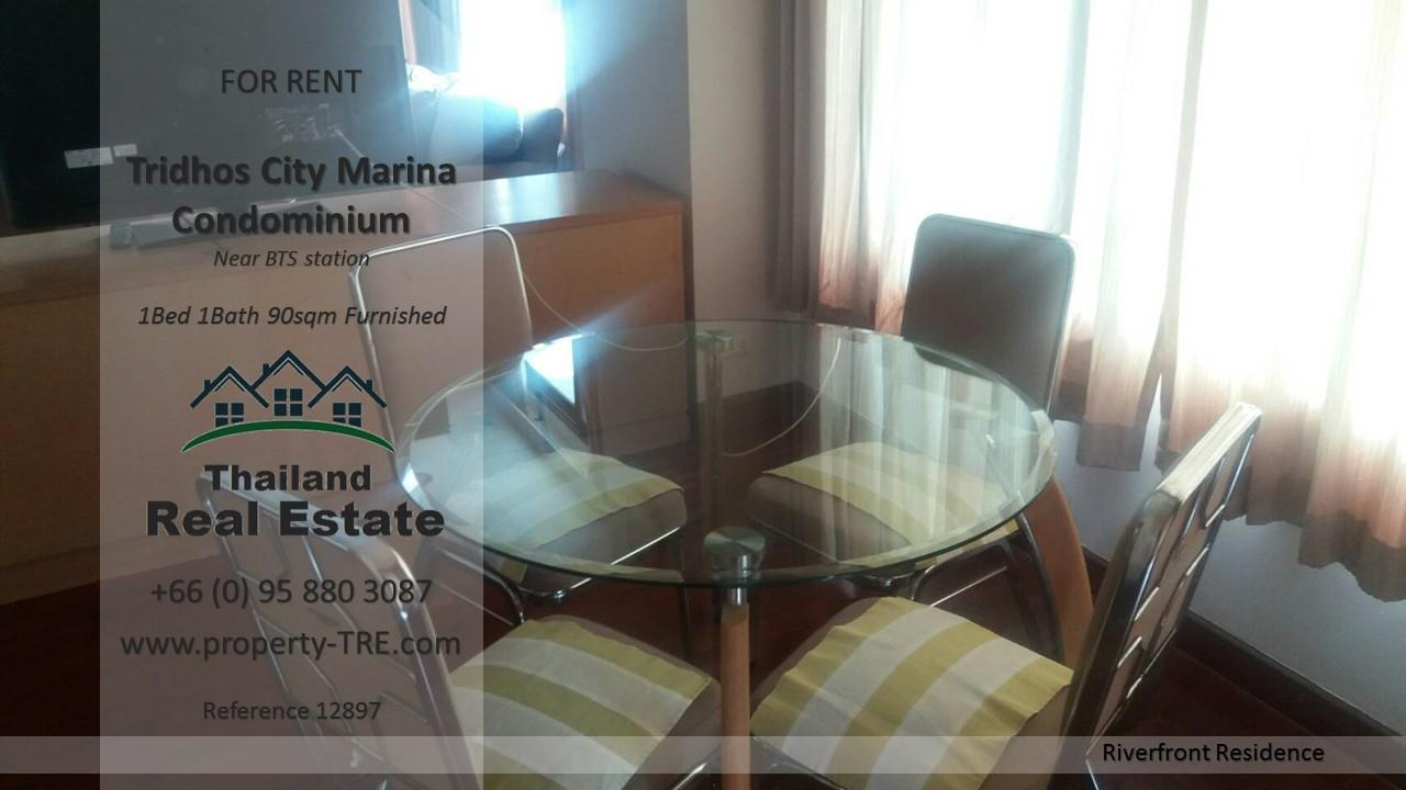 Thailand Real Estate Agency's 1 Bedroom Condo at Tridhos City Marina near 2 BTS Stations(12897) 10