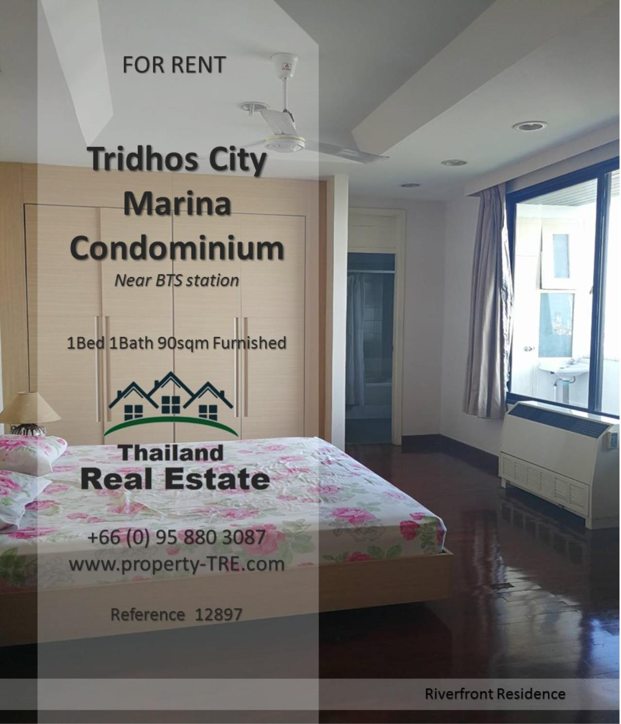 Thailand Real Estate Agency's 1 Bedroom Condo at Tridhos City Marina near 2 BTS Stations(12897) 2