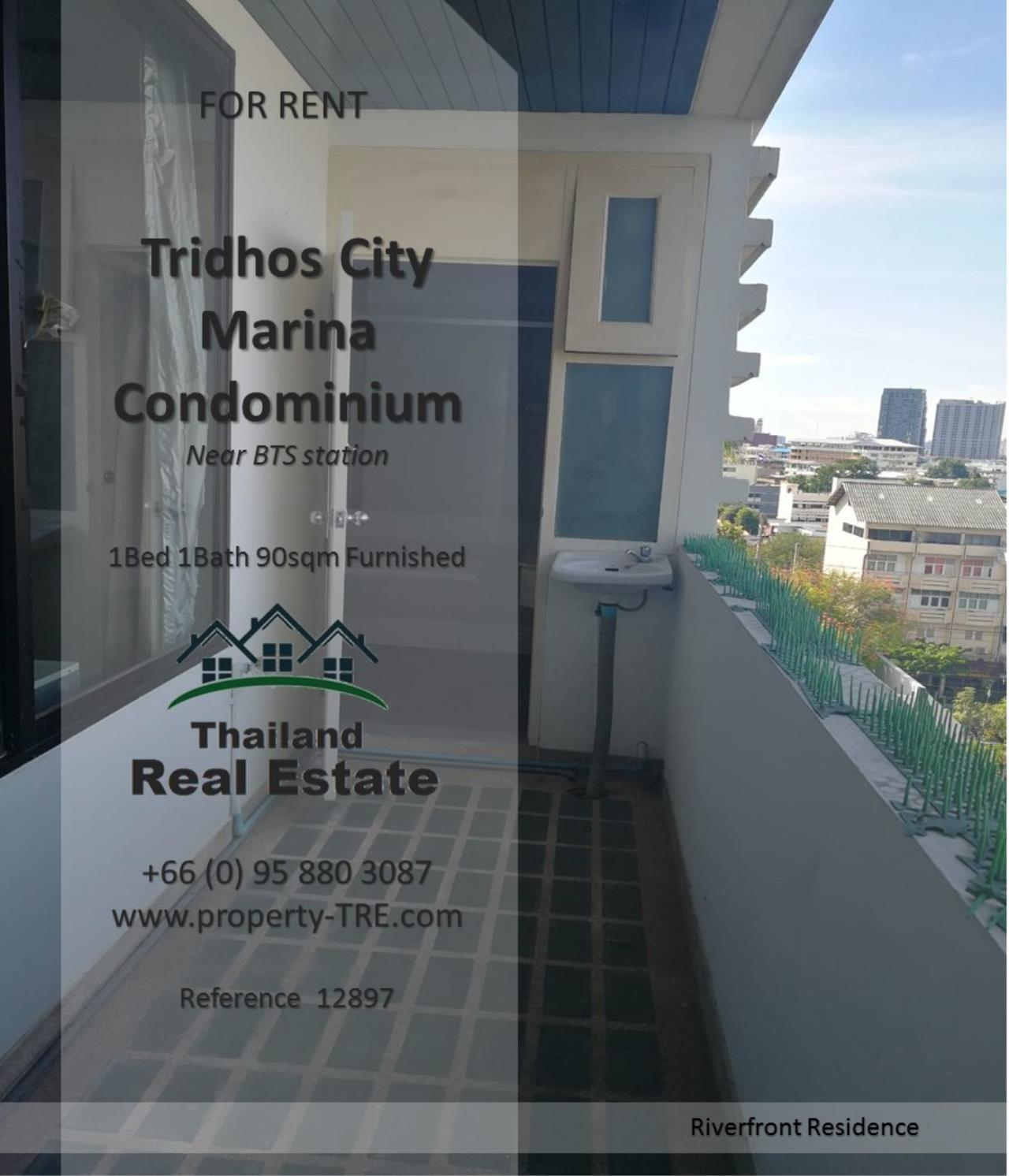 Thailand Real Estate Agency's 1 Bedroom Condo at Tridhos City Marina near 2 BTS Stations(12897) 6