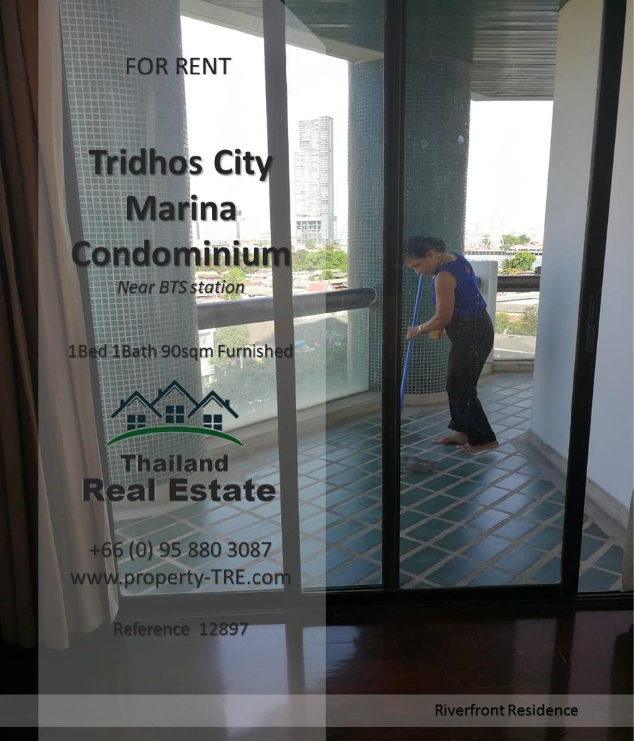 Thailand Real Estate Agency's 1 Bedroom Condo at Tridhos City Marina near 2 BTS Stations(12897) 7