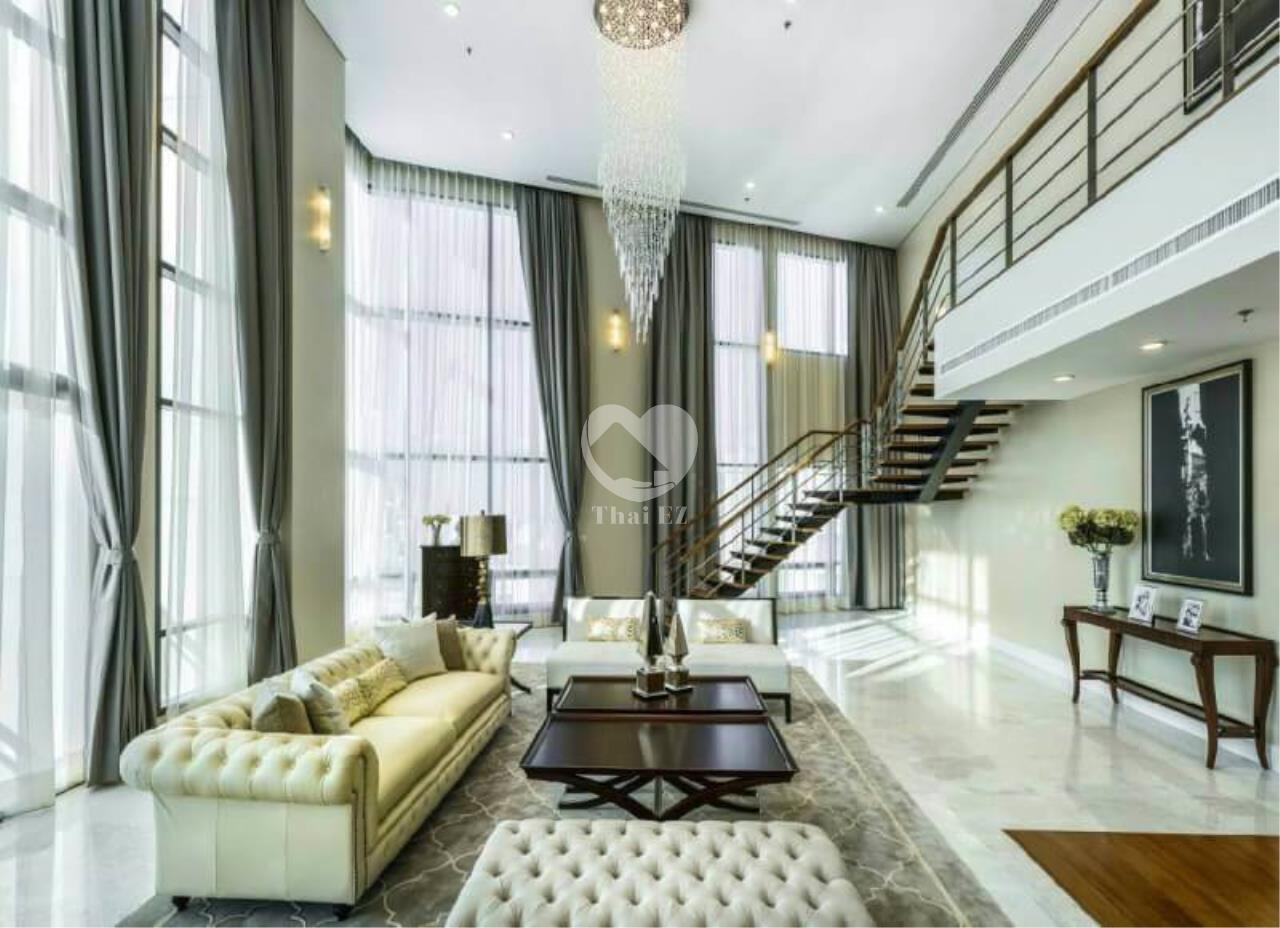 Thai EZ Agency's Luxury Penthouse Duplex for sale THB 120,000,000 Bright Sukhumvit 24 1