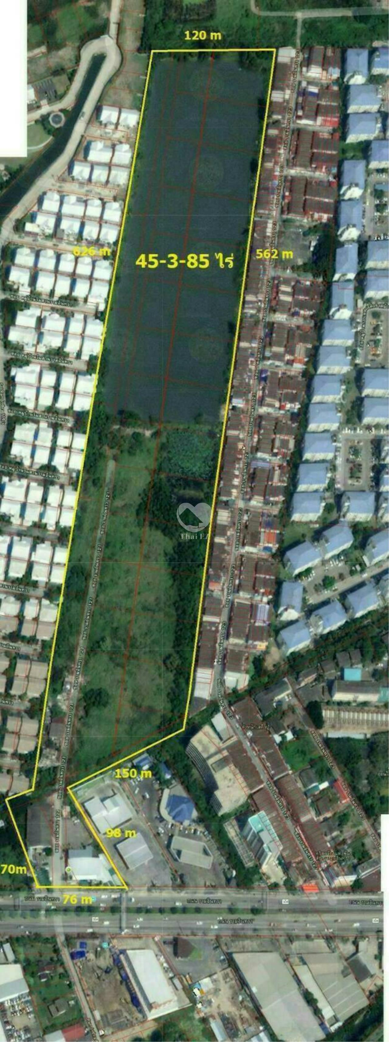Thai EZ Agency's Land for Sale Ram Indra K.M. 14 3