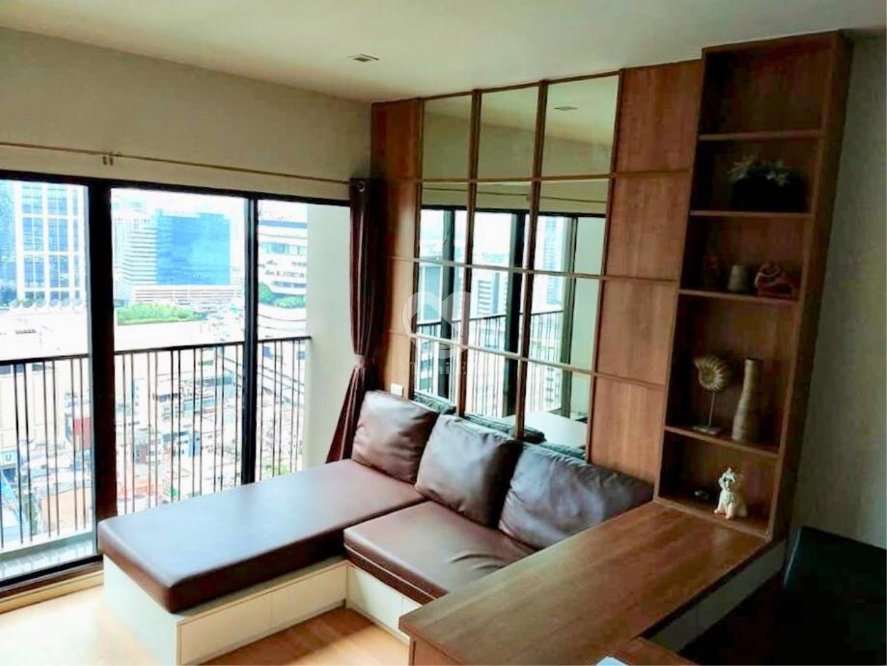 Thai EZ Agency's For Rent - Noble Refine Top Fl., 25th Corner unit Stunning view 9