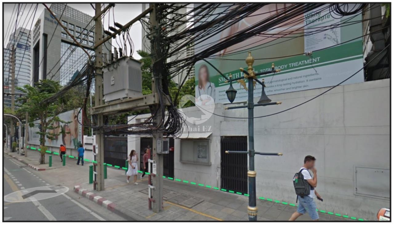 Thai EZ Agency's Land with Commercial building in South Sathorn 5