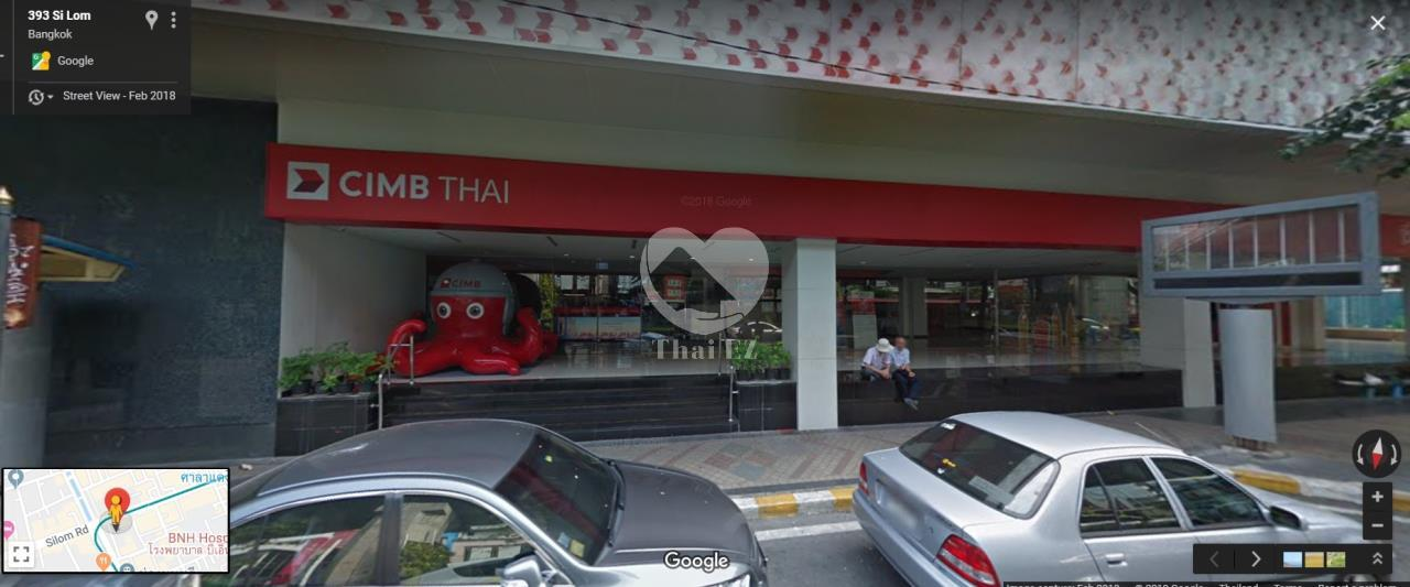 Thai EZ Agency's Land with commercial building on Silom Road 3