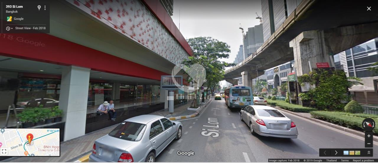 Thai EZ Agency's Land with commercial building on Silom Road 4