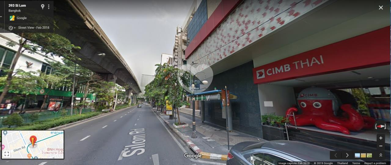 Thai EZ Agency's Land with commercial building on Silom Road 5
