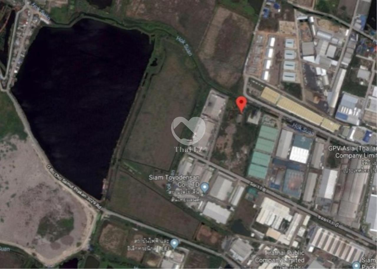Thai EZ Agency's Land Near Bangpoo Industrial estate/ 2 rai/  Samut Prakan 1