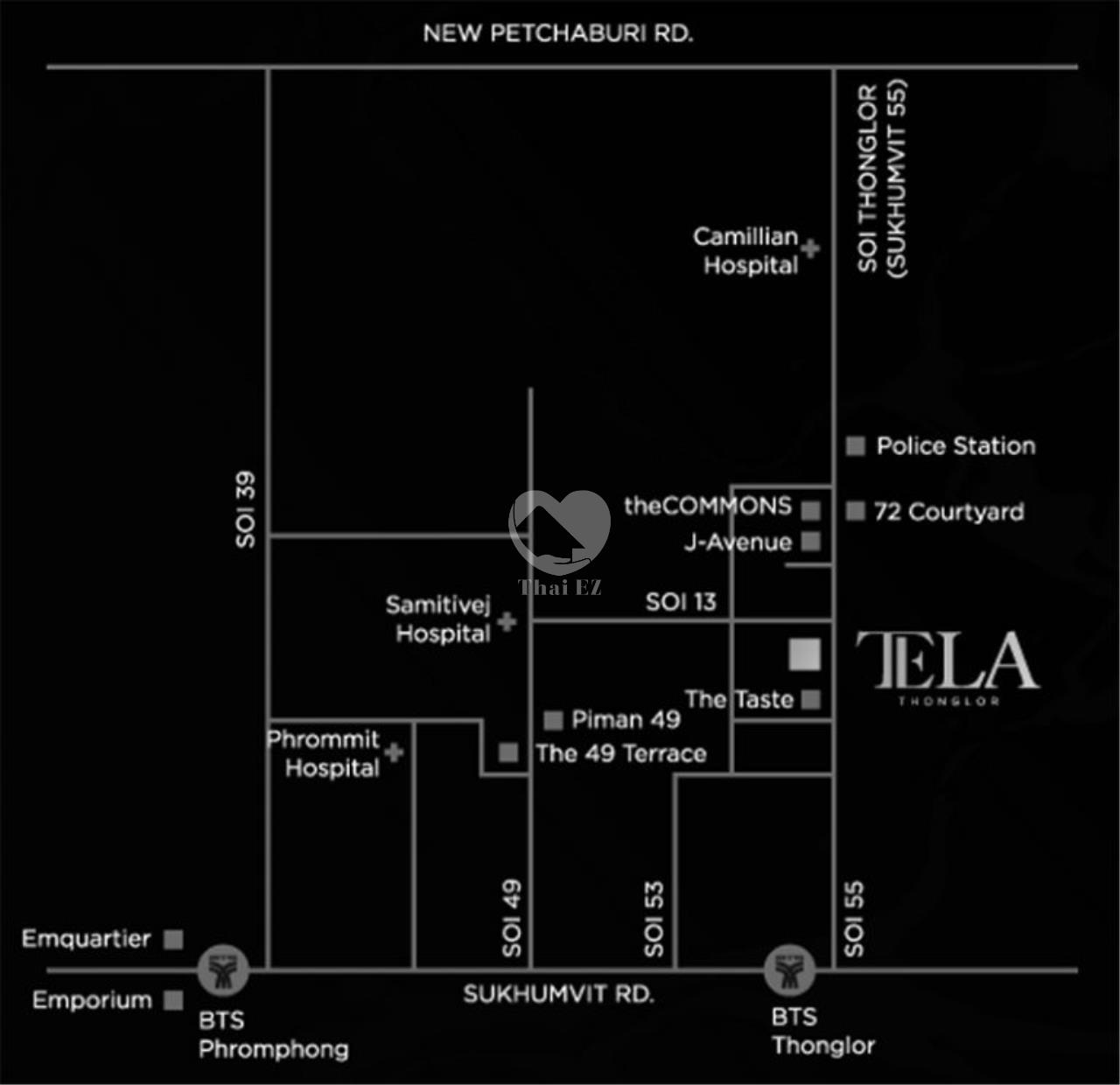 Thai EZ Agency's Luxury Condo - Sell 2 Bed 2 Bath Tela Thonglor 111 sqm. 6