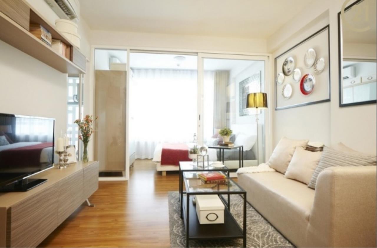 Century21 Skylux Agency's I-Biza / Apartment (Serviced) For Rent / 1 Bedroom / 31 SQM / MRT Phra Ram 9 / Bangkok 1