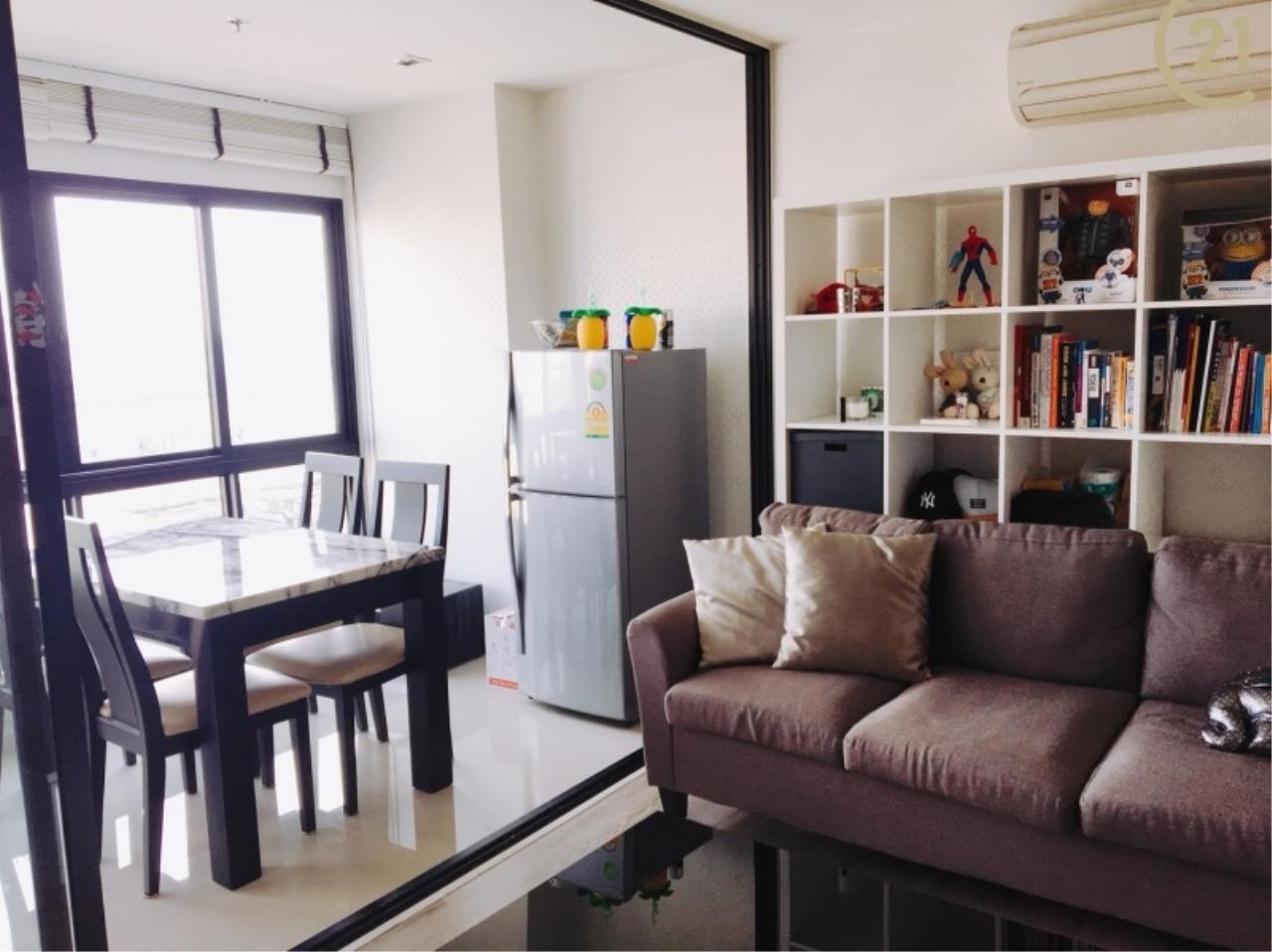 Century21 Skylux Agency's KnightsBridge / Condo For Sale / 2 Bedroom / 62 SQM / BTS Bearing / Bangkok 1