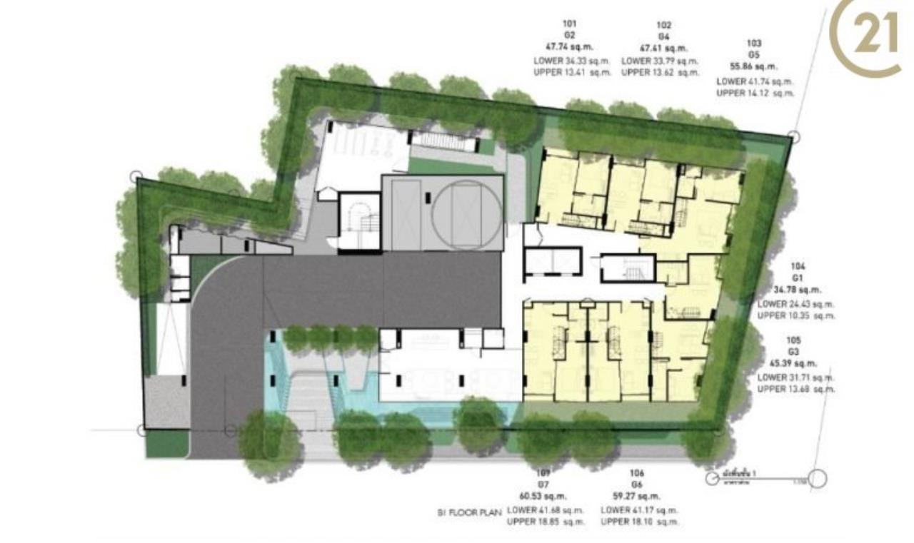 Century21 Skylux Agency's Walden Sukhumvit 39 / Condo For Sale / 1 Bedroom / 34.78 SQM / BTS Phrom Phong / Bangkok 3