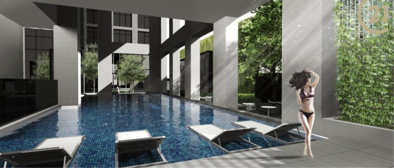 Century21 Skylux Agency's Siamese Sukhumvit / Condo For Sale / 1 Bedroom / 44.39 SQM / BTS On Nut / Bangkok 8