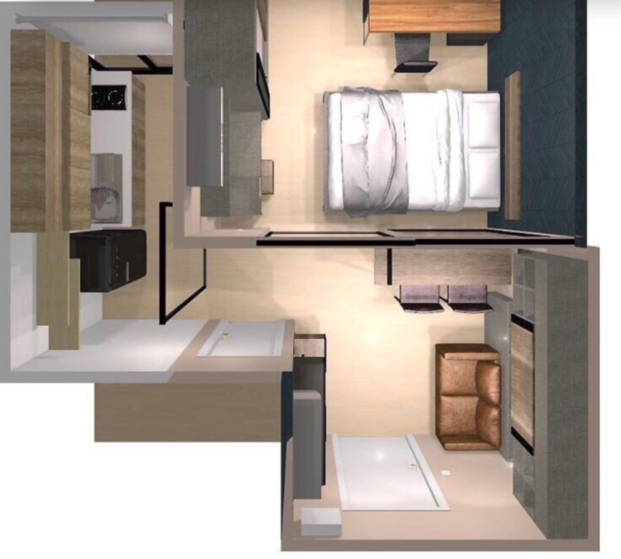 Century21 Skylux Agency's Life Asoke / Condo For Sale / 1 Bedroom / 30 SQM / MRT Phetchaburi / Bangkok 1