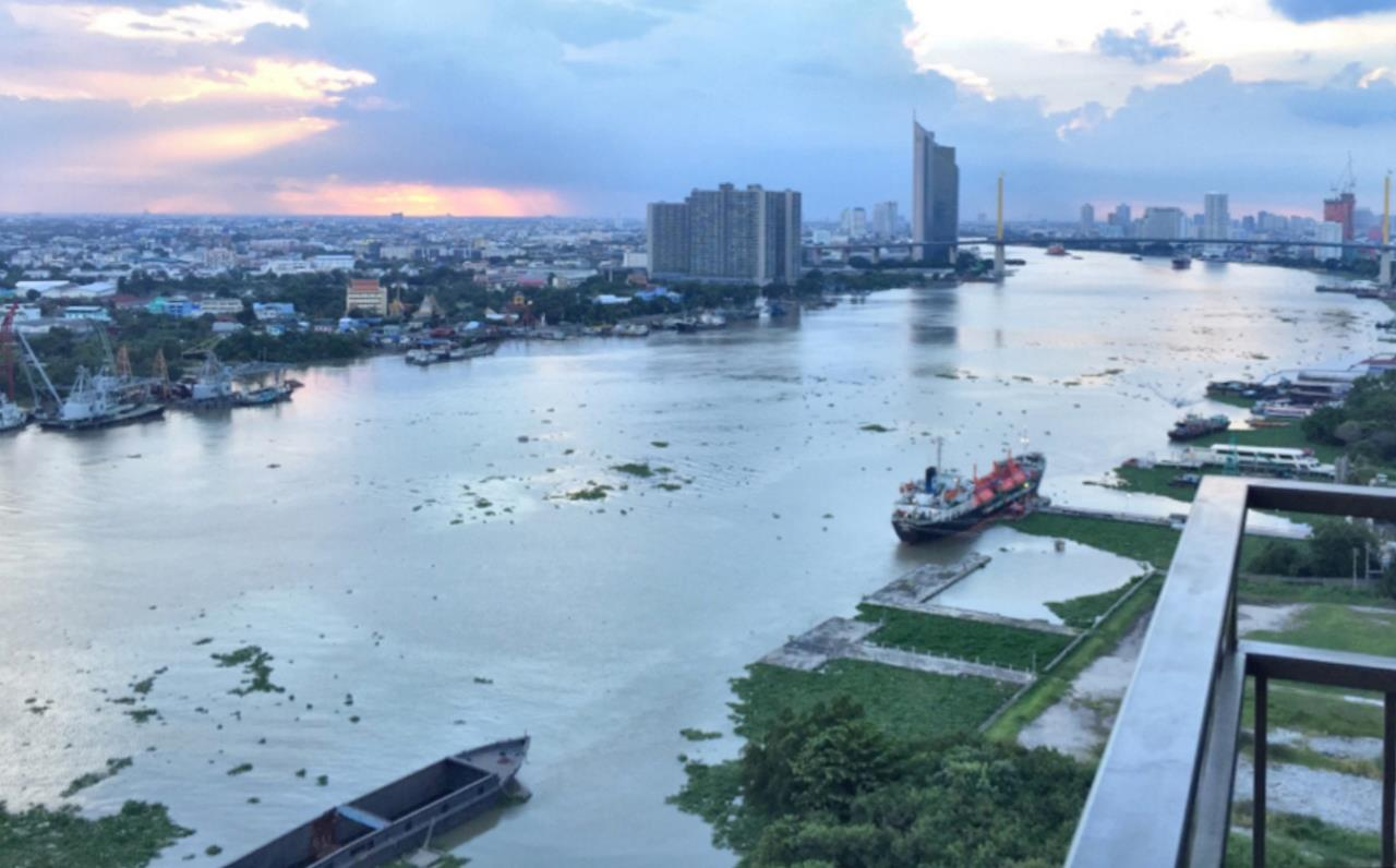Century21 Skylux Agency's U Delight Residence Riverfront Rama 3 / Condo For Sale / 1 Bedroom / 35 SQM / BTS Saphan Taksin / Bangkok 9
