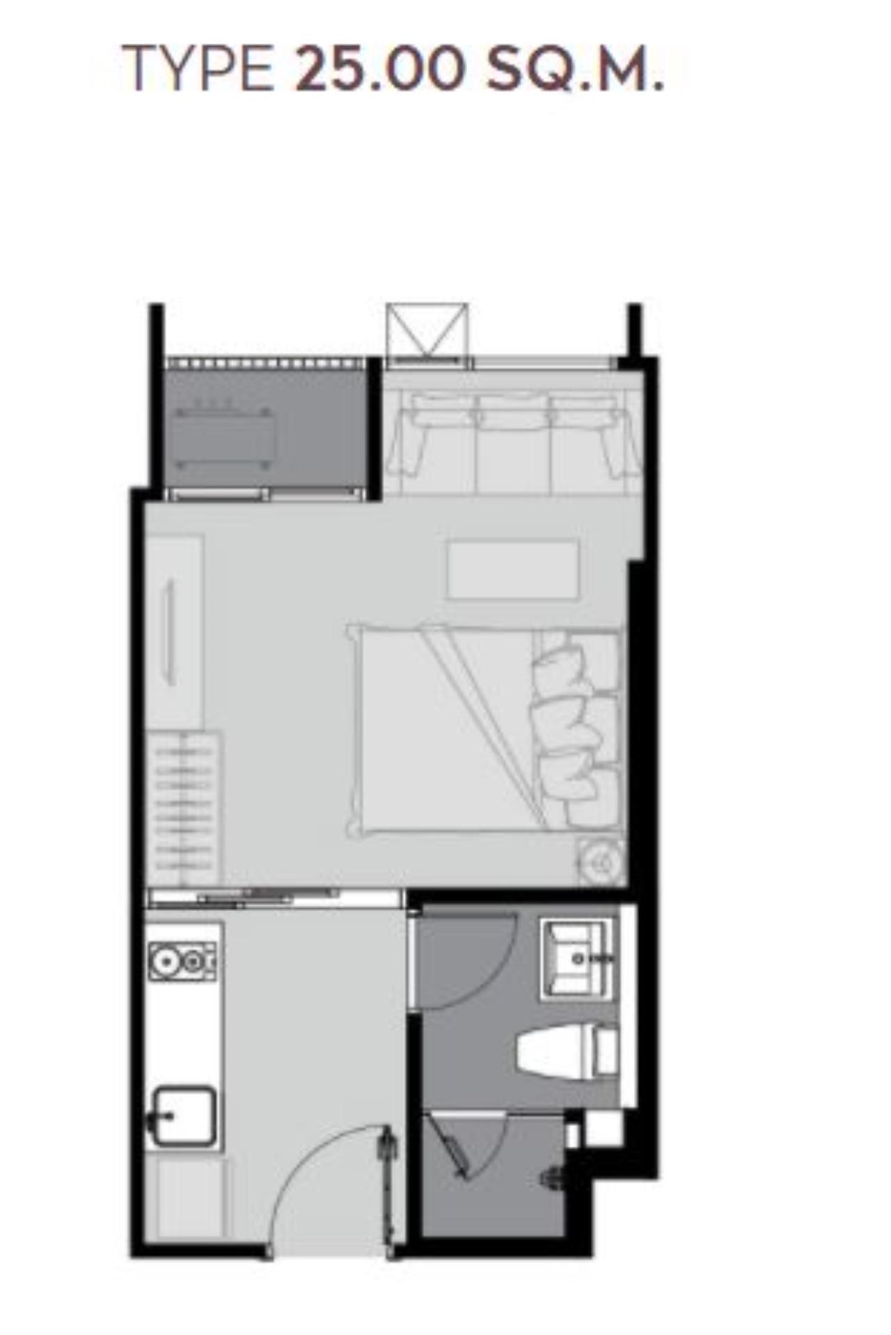 Century21 Skylux Agency's Life Sukhumvit 62 / Condo For Sale / 1 Bedroom / 25 SQM / BTS Bang Chak / Bangkok 3