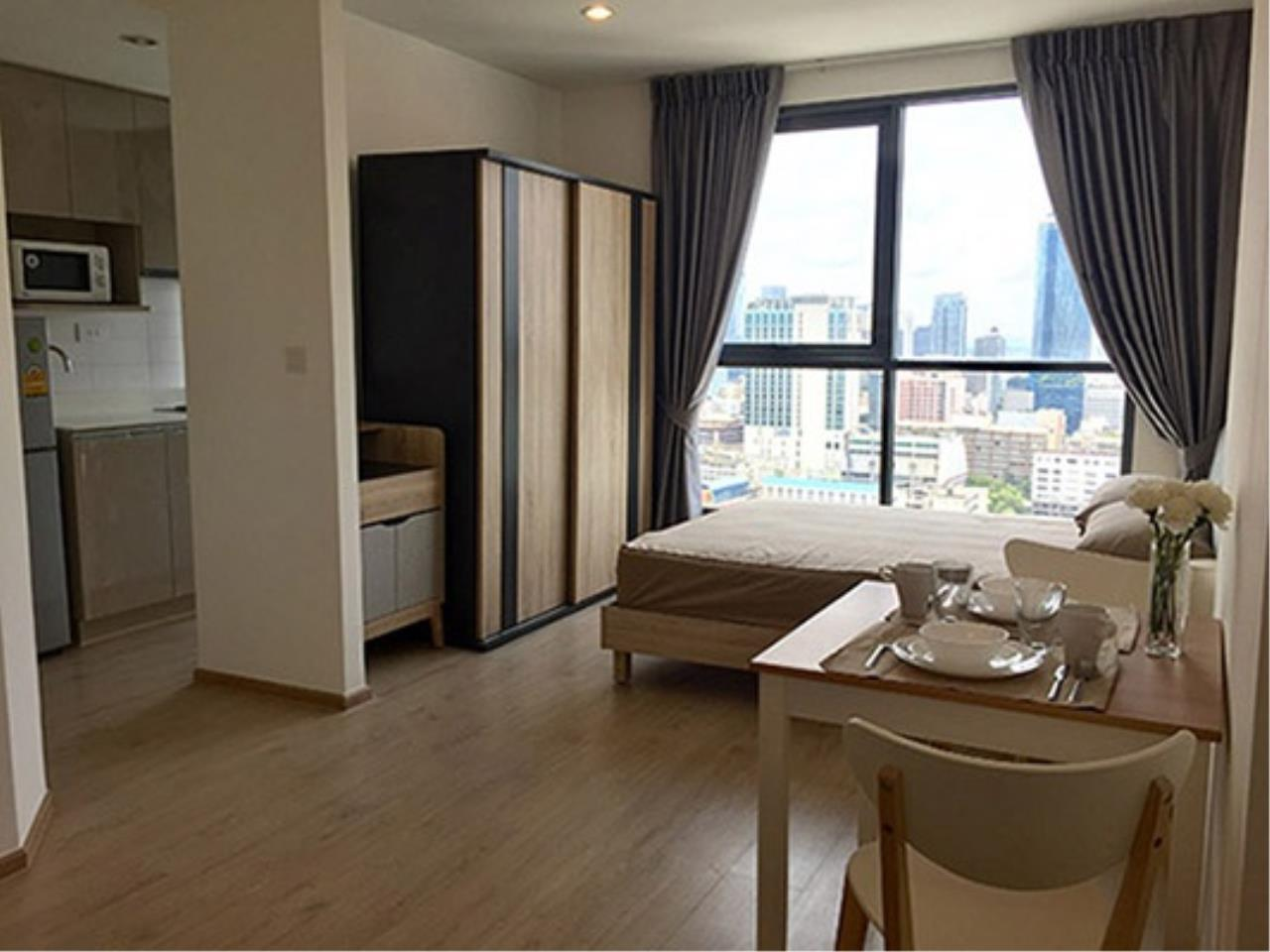 Century21 Skylux Agency's Ideo Q Chula-Samyan / Condo For Rent / 1 Bedroom / 28.9 SQM / MRT Sam Yan / Bangkok 1