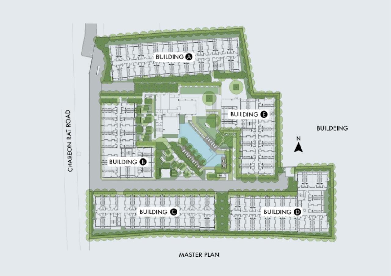 Century21 Skylux Agency's Blossom Condo @ Sathorn-Charoenrat / Condo For Sale / 1 Bedroom / 46.91 SQM / BTS Surasak / Bangkok 6