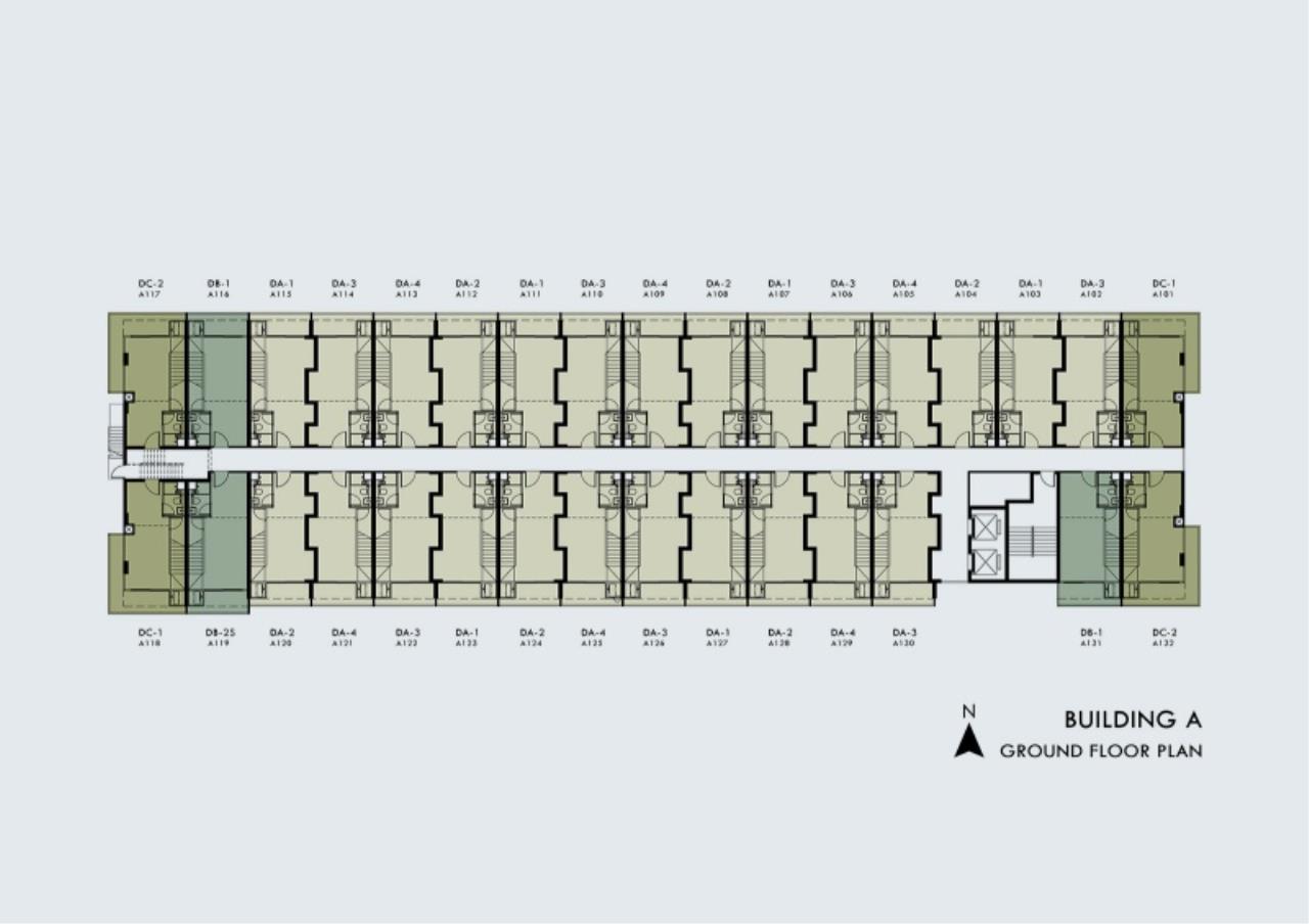 Century21 Skylux Agency's Blossom Condo @ Sathorn-Charoenrat / Condo For Sale / 1 Bedroom / 46.91 SQM / BTS Surasak / Bangkok 5
