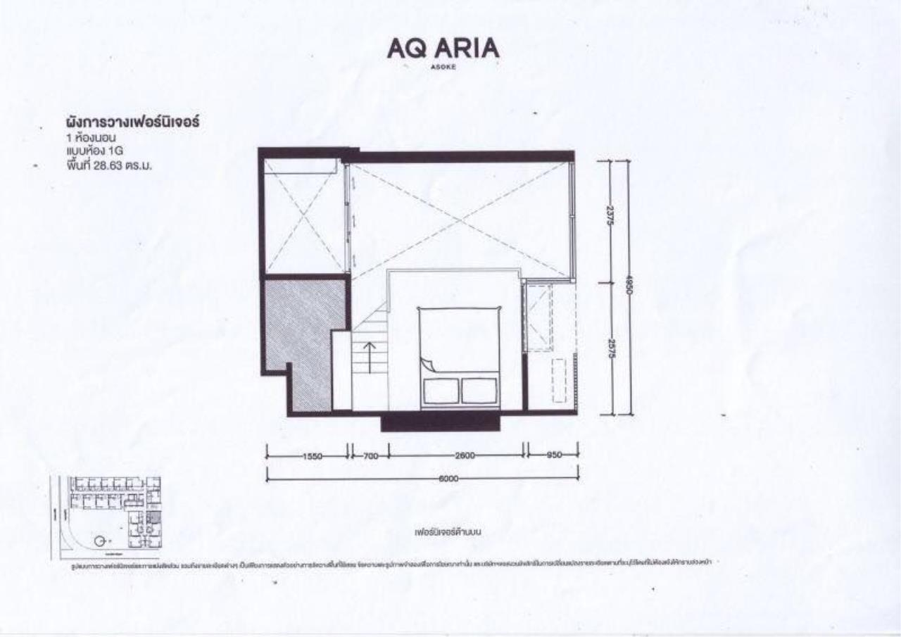 Century21 Skylux Agency's Chewathai Residence Asoke / Condo For Sale / 1 Bedroom / 37 SQM / MRT Phra Ram 9 / Bangkok 9