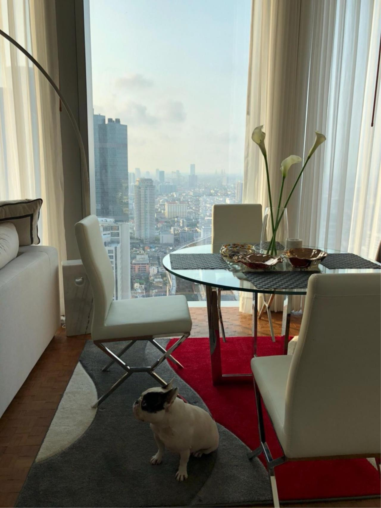 Century21 Skylux Agency's The Ritz-Carlton Residences at MahaNakhon / Condo For Sale / 2 Bedroom / 123.8 SQM / BTS Chong Nonsi / Bangkok 7