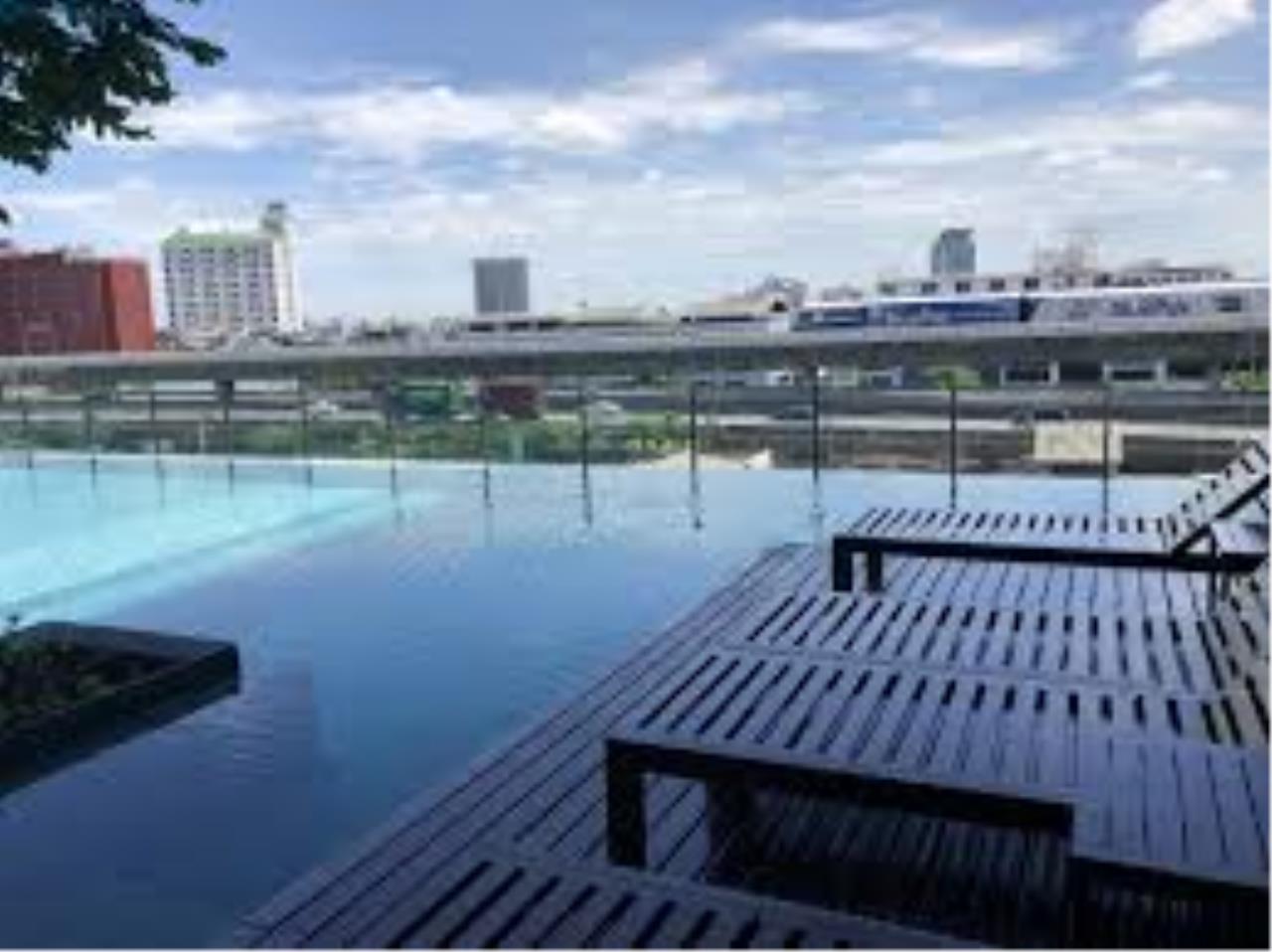 Century21 Skylux Agency's TEAL Sathorn-Taksin / Condo For Sale / 1 Bedroom / 30.59 SQM / BTS Wongwian Yai / Bangkok 7