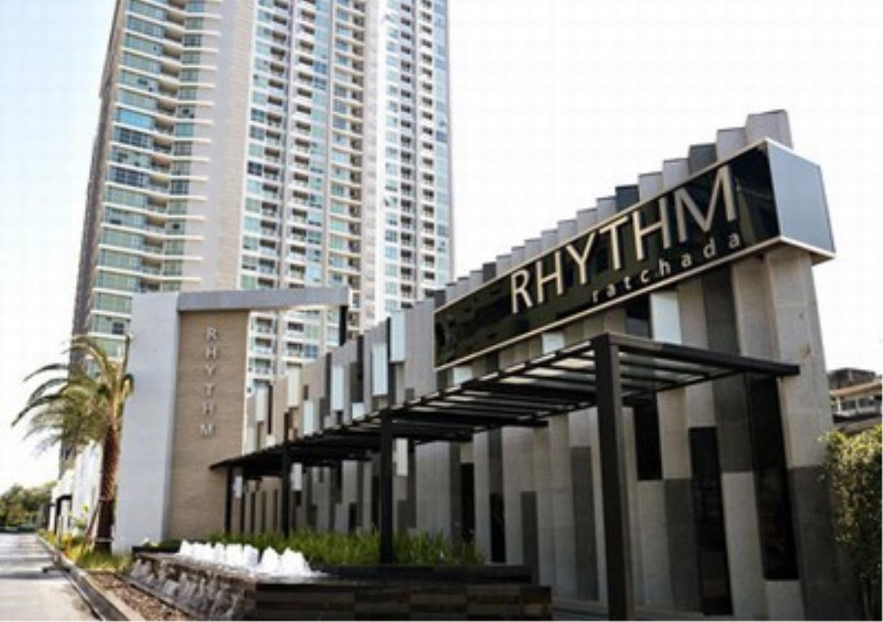 Century21 Skylux Agency's Rhythm Ratchada / Condo For Rent / 1 Bedroom / 45.5 SQM / MRT Ratchadaphisek / Bangkok 9