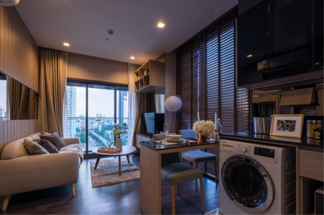 Century21 Skylux Agency's The Line Asoke – Ratchada / Condo For Sale / 1 Bedroom / 35.67 SQM / MRT Phra Ram 9 / Bangkok 1