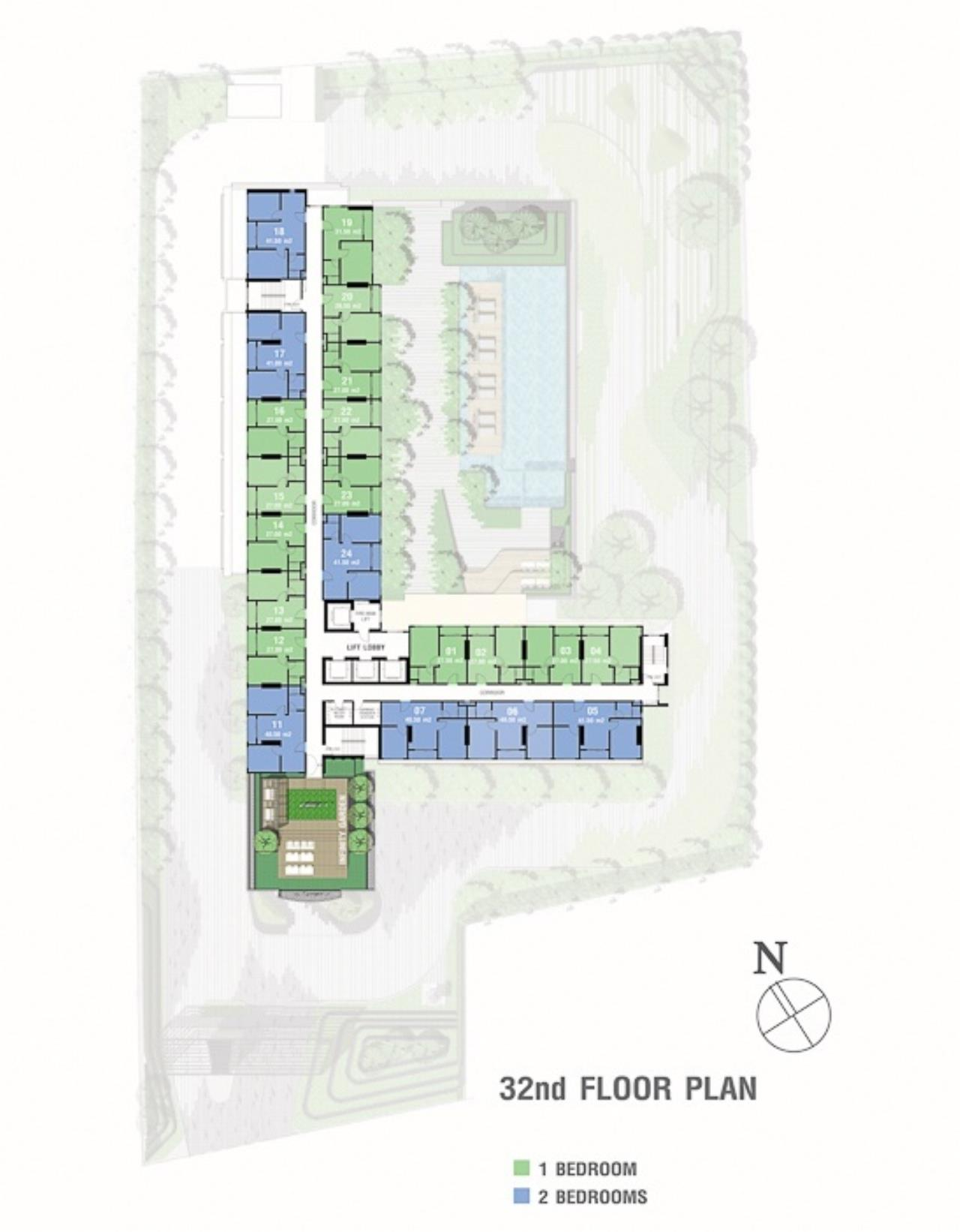 Century21 Skylux Agency's Lumpini Suite Phetchaburi-Makkasan / Condo For Sale / 1 Bedroom / 27 SQM / MRT Phetchaburi / Bangkok 13