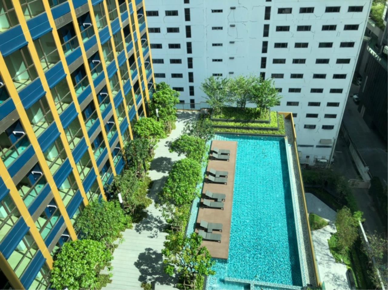 Century21 Skylux Agency's Lumpini Suite Phetchaburi-Makkasan / Condo For Sale / 1 Bedroom / 27 SQM / MRT Phetchaburi / Bangkok 8