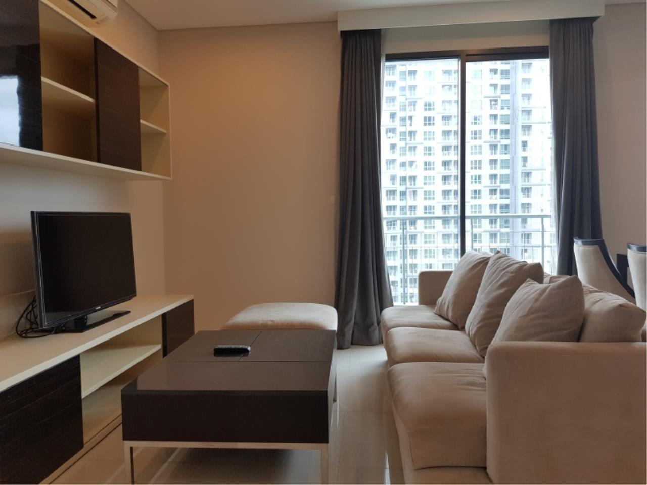 Century21 Skylux Agency's Villa Asoke / Condo For Rent / 2 Bedroom / 80.77 SQM / MRT Phetchaburi / Bangkok 1
