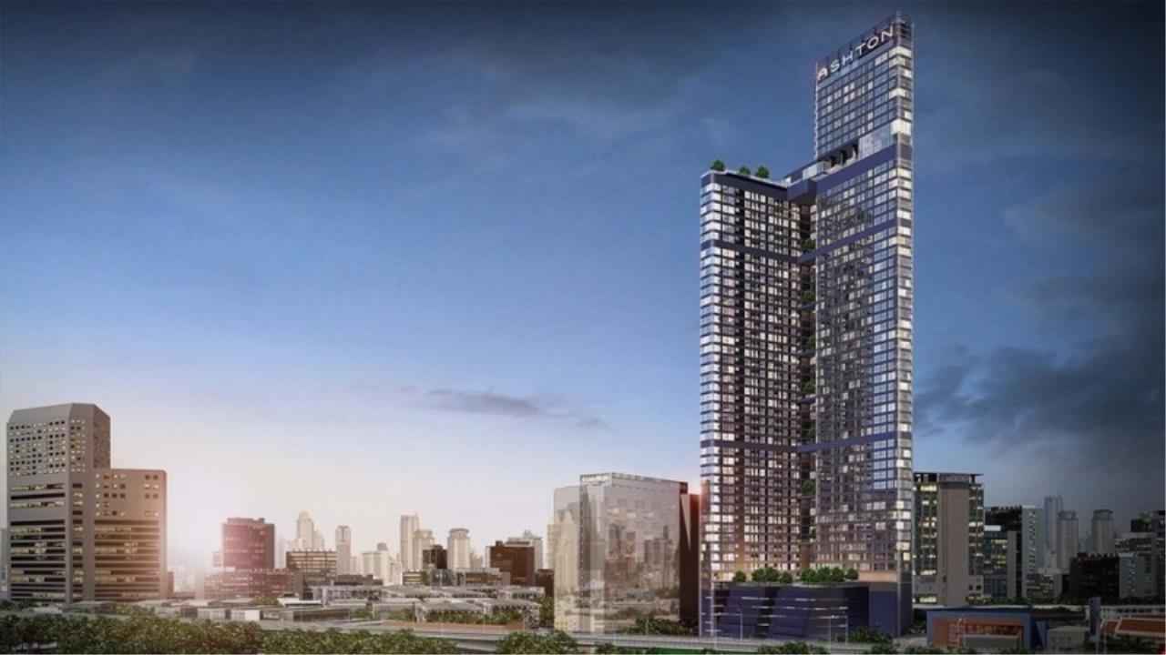 Century21 Skylux Agency's Ashton Chula-Silom / Condo For Rent / 1 Bedroom / 25 SQM / MRT Sam Yan / Bangkok 1