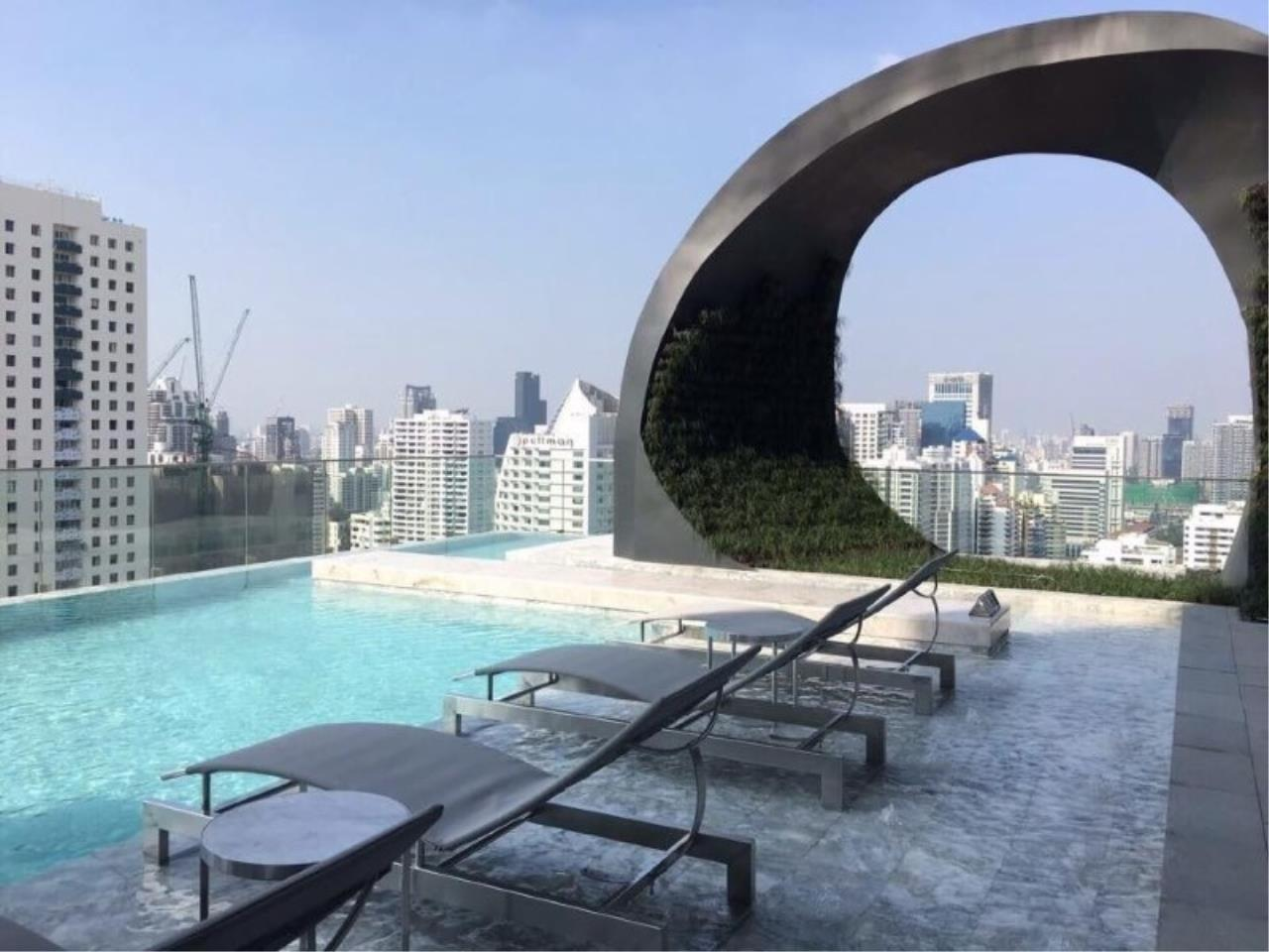 Century21 Skylux Agency's Edge Sukhumvit 23 / Condo For Rent / 1 Bedroom / 42 SQM / BTS Asok / Bangkok 10