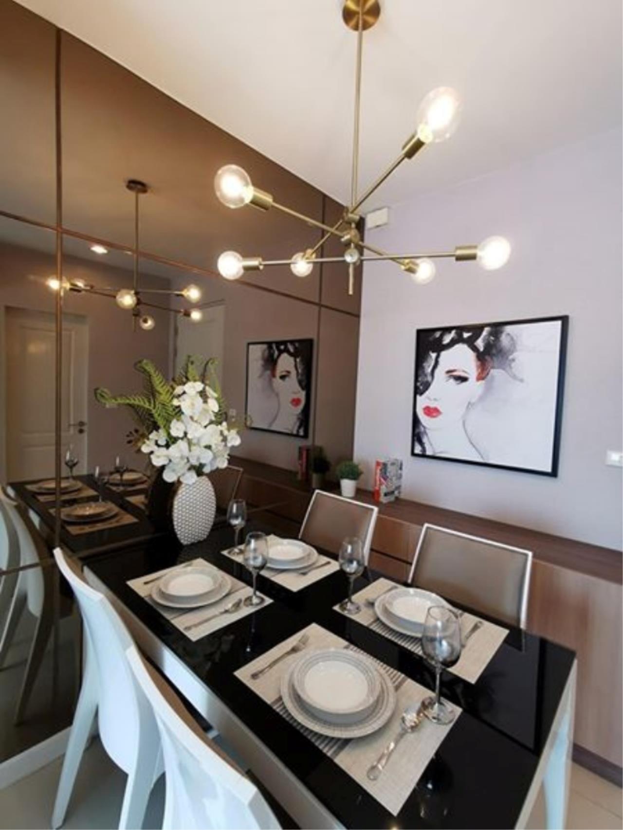 Century21 Skylux Agency's Q. House Condo Sathorn / Condo For Rent / 1 Bedroom / 47.2 SQM / BTS Krung Thon Buri / Bangkok 7