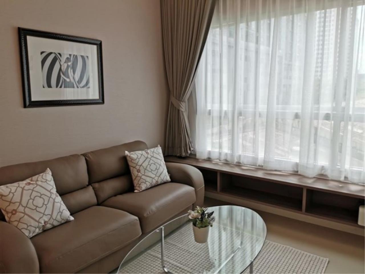 Century21 Skylux Agency's Q. House Condo Sathorn / Condo For Rent / 1 Bedroom / 47.2 SQM / BTS Krung Thon Buri / Bangkok 3