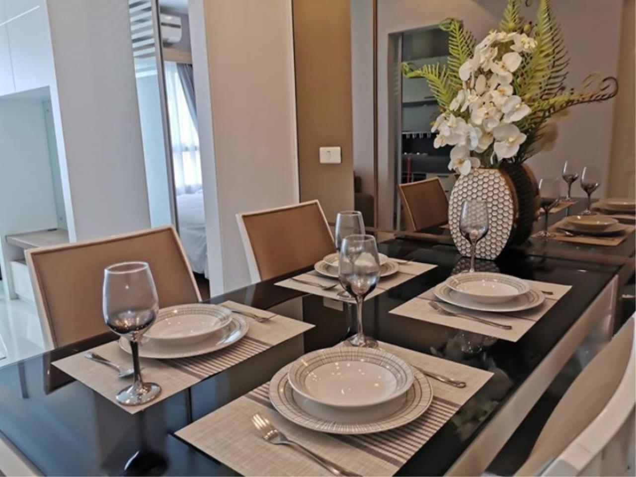 Century21 Skylux Agency's Q. House Condo Sathorn / Condo For Rent / 1 Bedroom / 47.2 SQM / BTS Krung Thon Buri / Bangkok 8