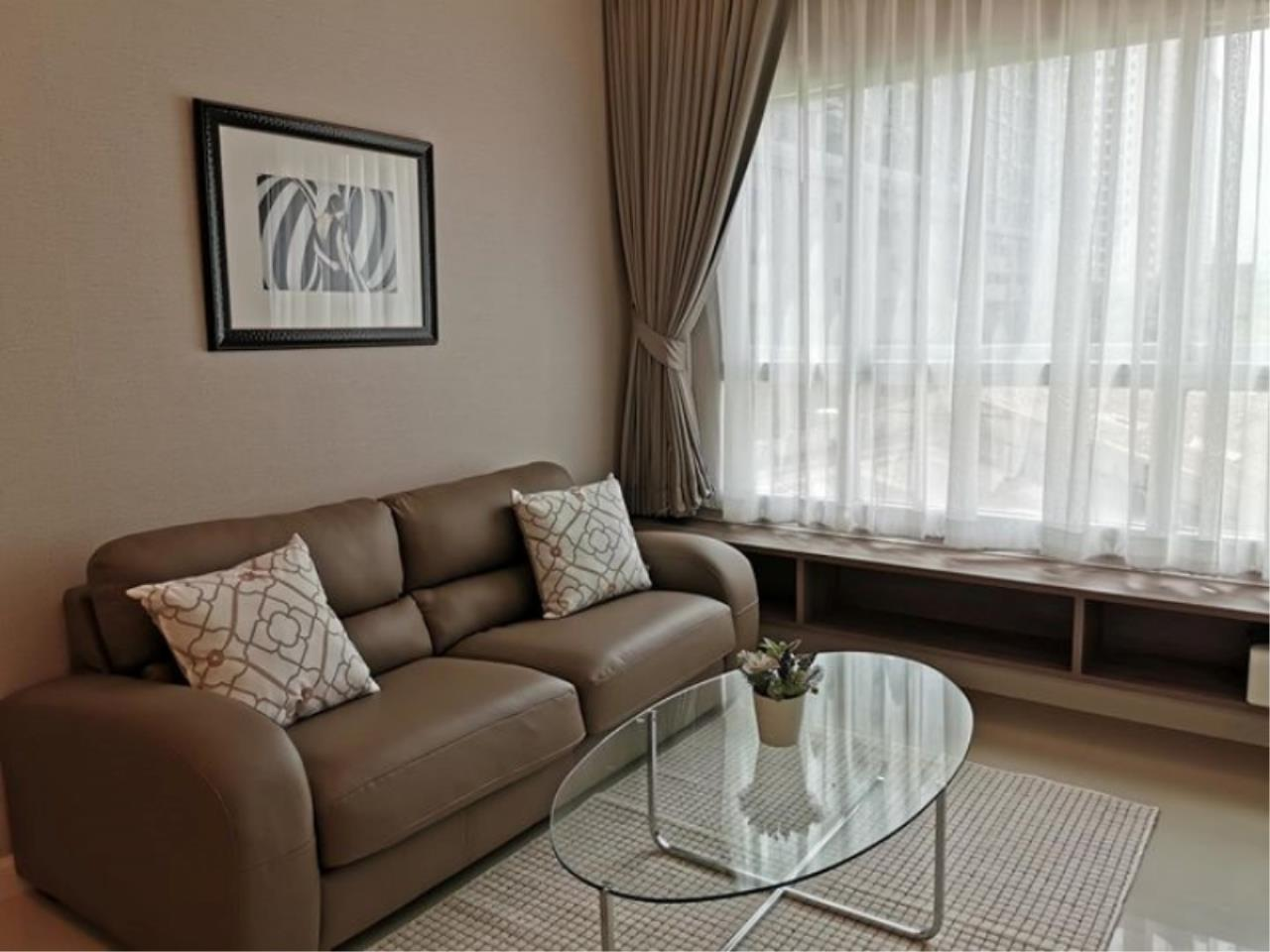 Century21 Skylux Agency's Q. House Condo Sathorn / Condo For Rent / 1 Bedroom / 47.2 SQM / BTS Krung Thon Buri / Bangkok 1