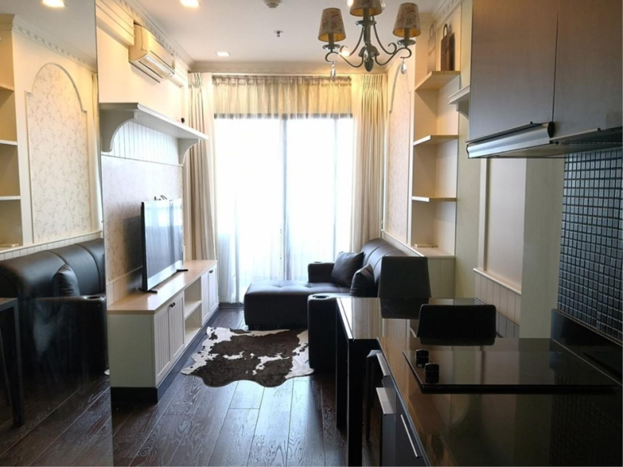 Century21 Skylux Agency's Ideo Q Phayathai / Condo For Rent / 1 Bedroom / 41 SQM / BTS Phaya Thai / Bangkok 1