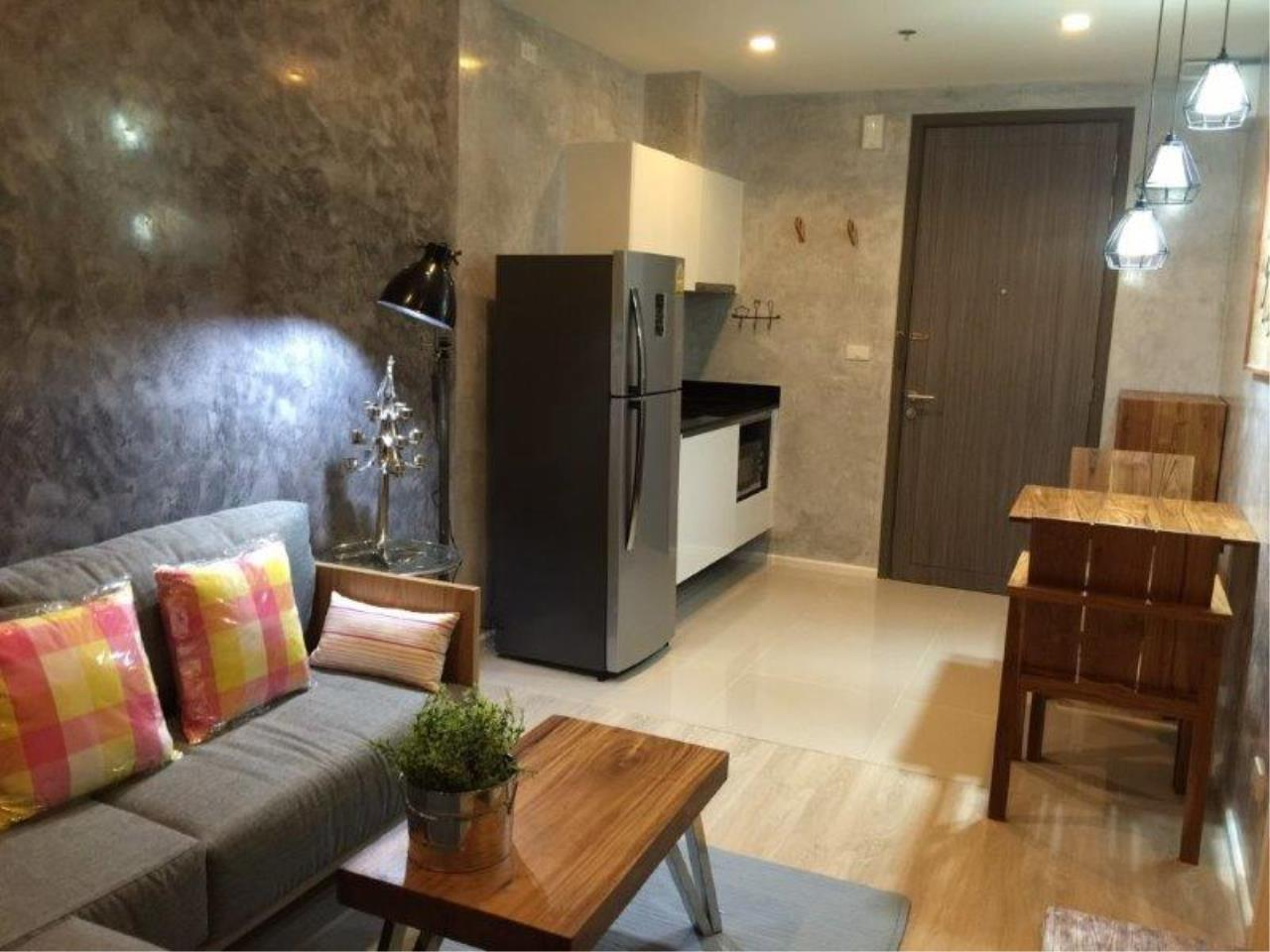 Century21 Skylux Agency's Quinn Condo Ratchada / Condo For Rent / 1 Bedroom / 34 SQM / MRT Sutthisan / Bangkok 3