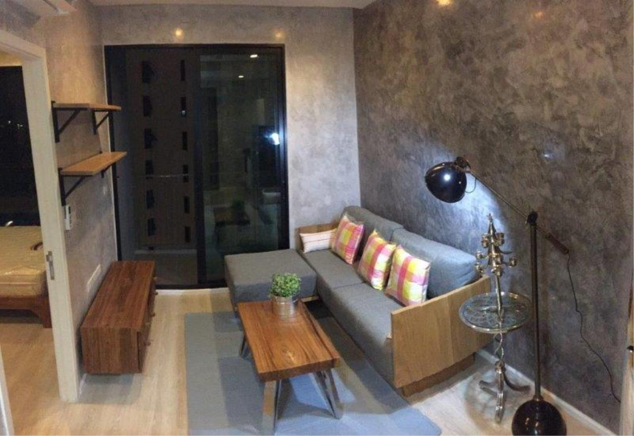Century21 Skylux Agency's Quinn Condo Ratchada / Condo For Rent / 1 Bedroom / 34 SQM / MRT Sutthisan / Bangkok 1