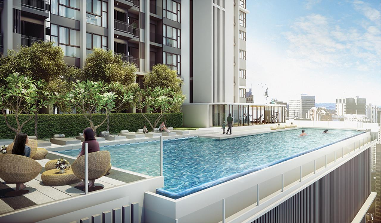 Century21 Skylux Agency's Quinn Condo Ratchada / Condo For Rent / 1 Bedroom / 34 SQM / MRT Sutthisan / Bangkok 7