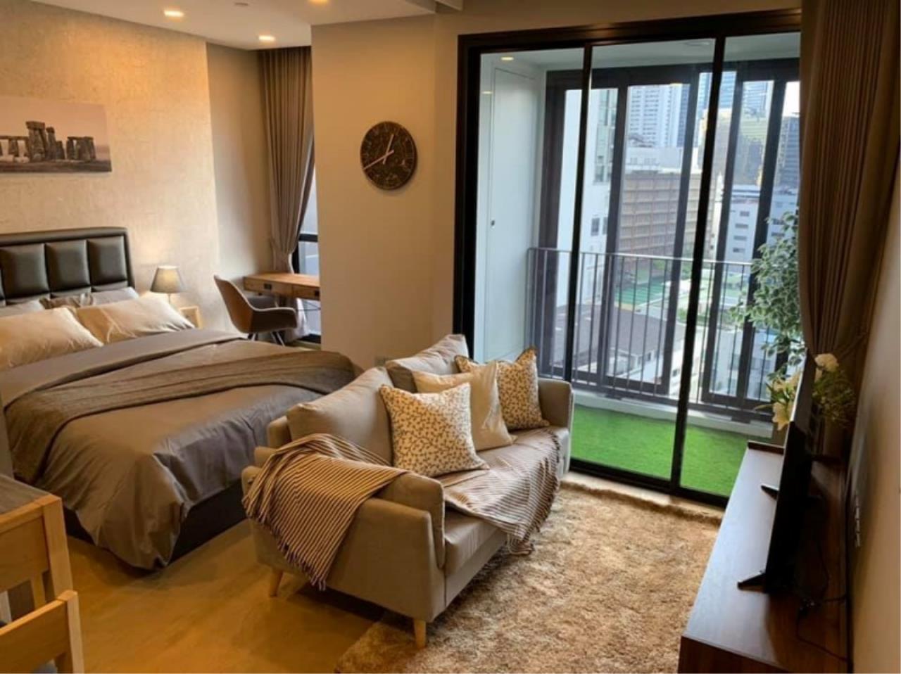Century21 Skylux Agency's Ashton Chula-Silom / Condo For Rent / 1 Bedroom / 34 SQM / MRT Sam Yan / Bangkok 1