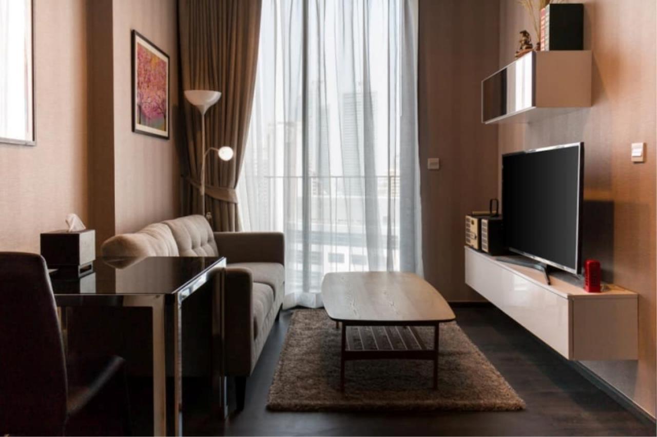 Century21 Skylux Agency's Edge Sukhumvit 23 / Condo For Rent / 1 Bedroom / 31 SQM / BTS Asok / Bangkok 1