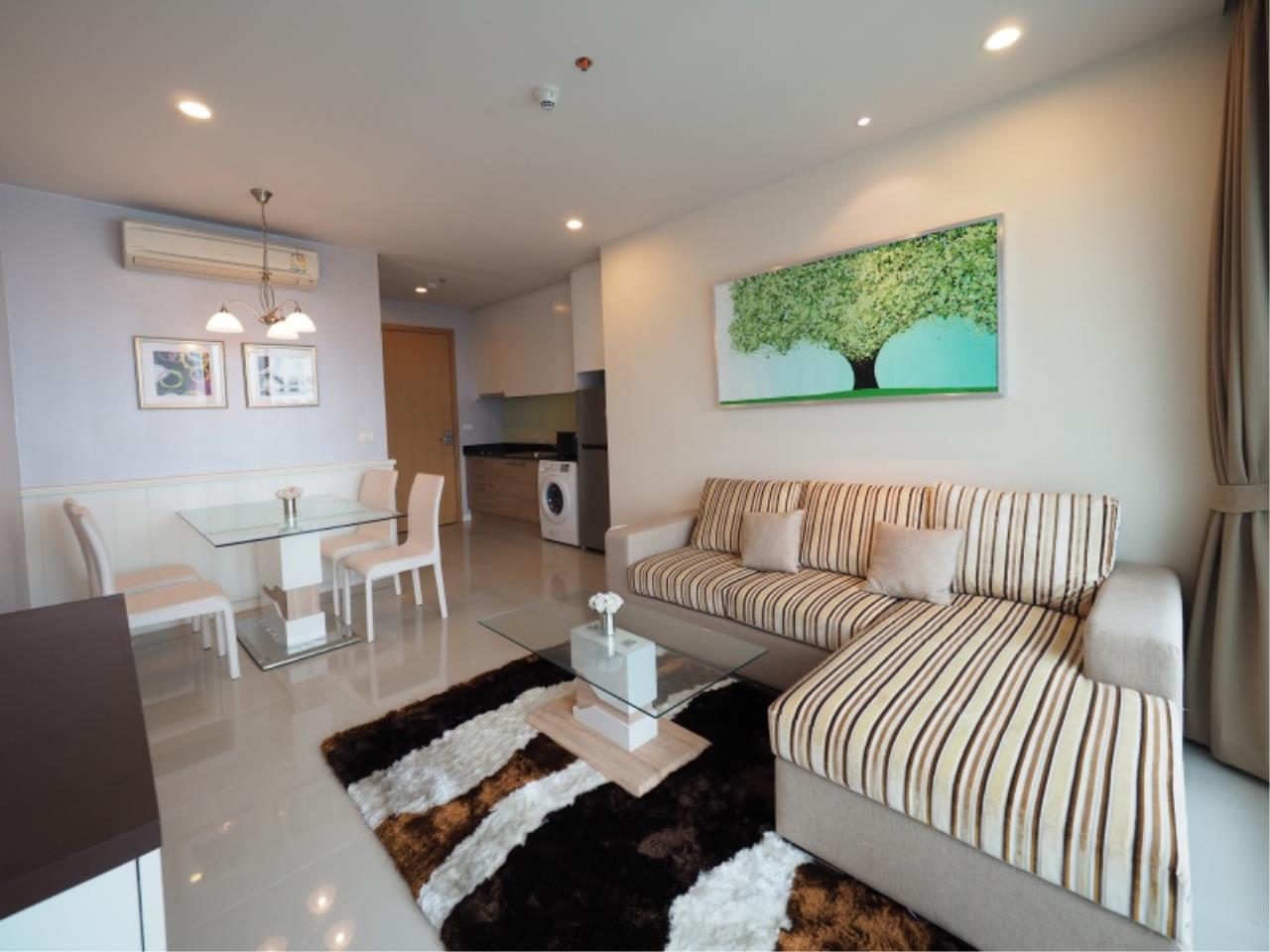 Century21 Skylux Agency's Circle Condominium / Condo For Rent / 1 Bedroom / 46 SQM / MRT Phetchaburi / Bangkok 2